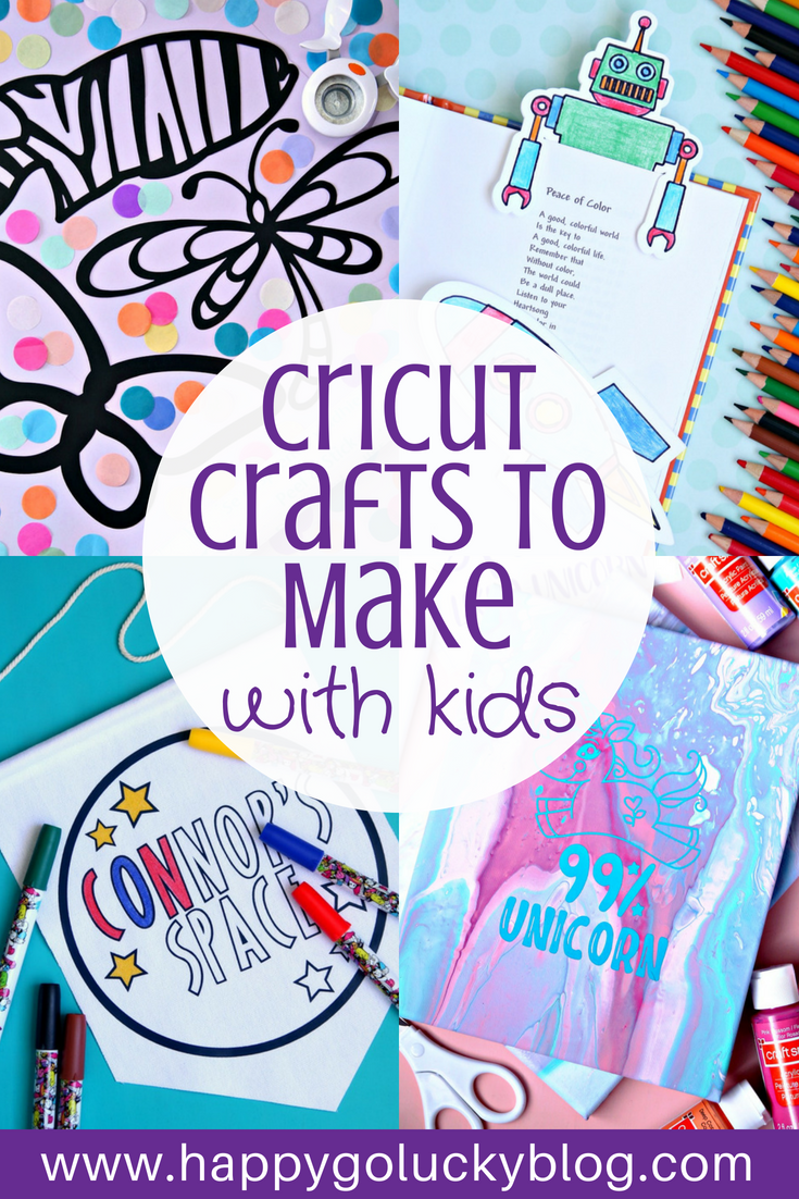 Cricut Crafts to Make with Kids