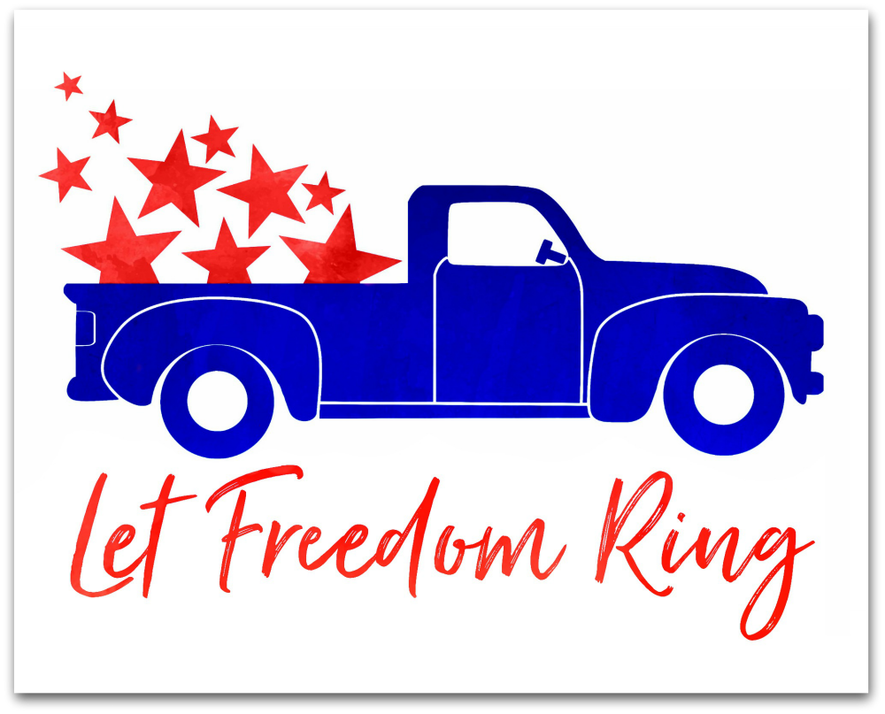 Let Freedom Ring Free Printable