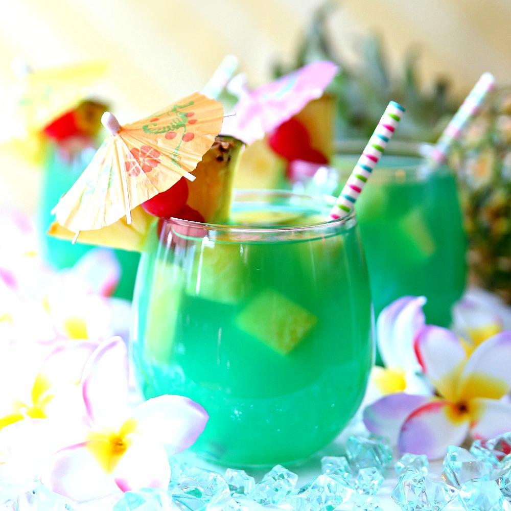 Mermaid Water Rum Punch