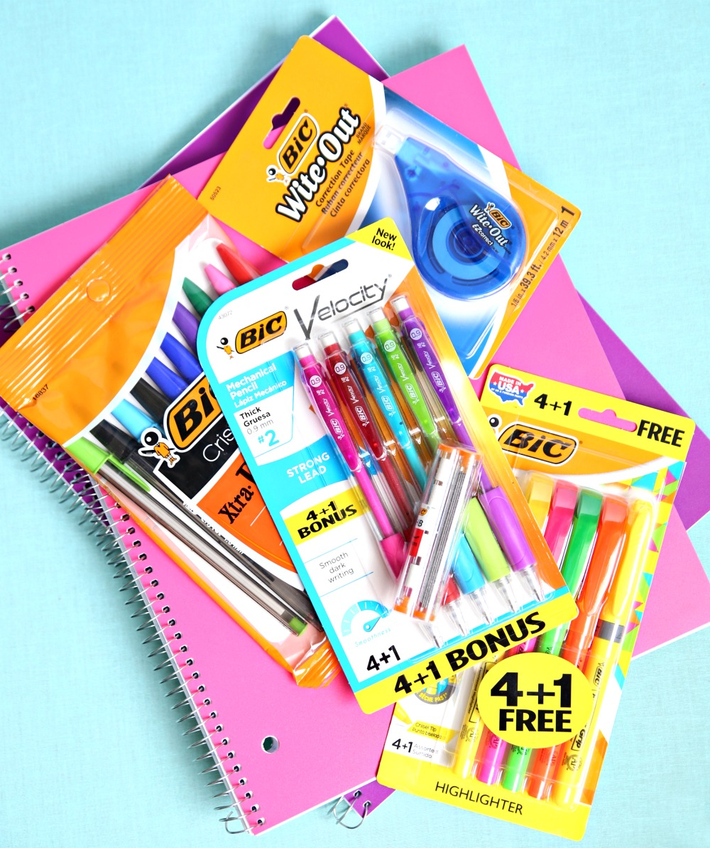 Buy BIC School Supplies and help classrooms raise money for supplies.