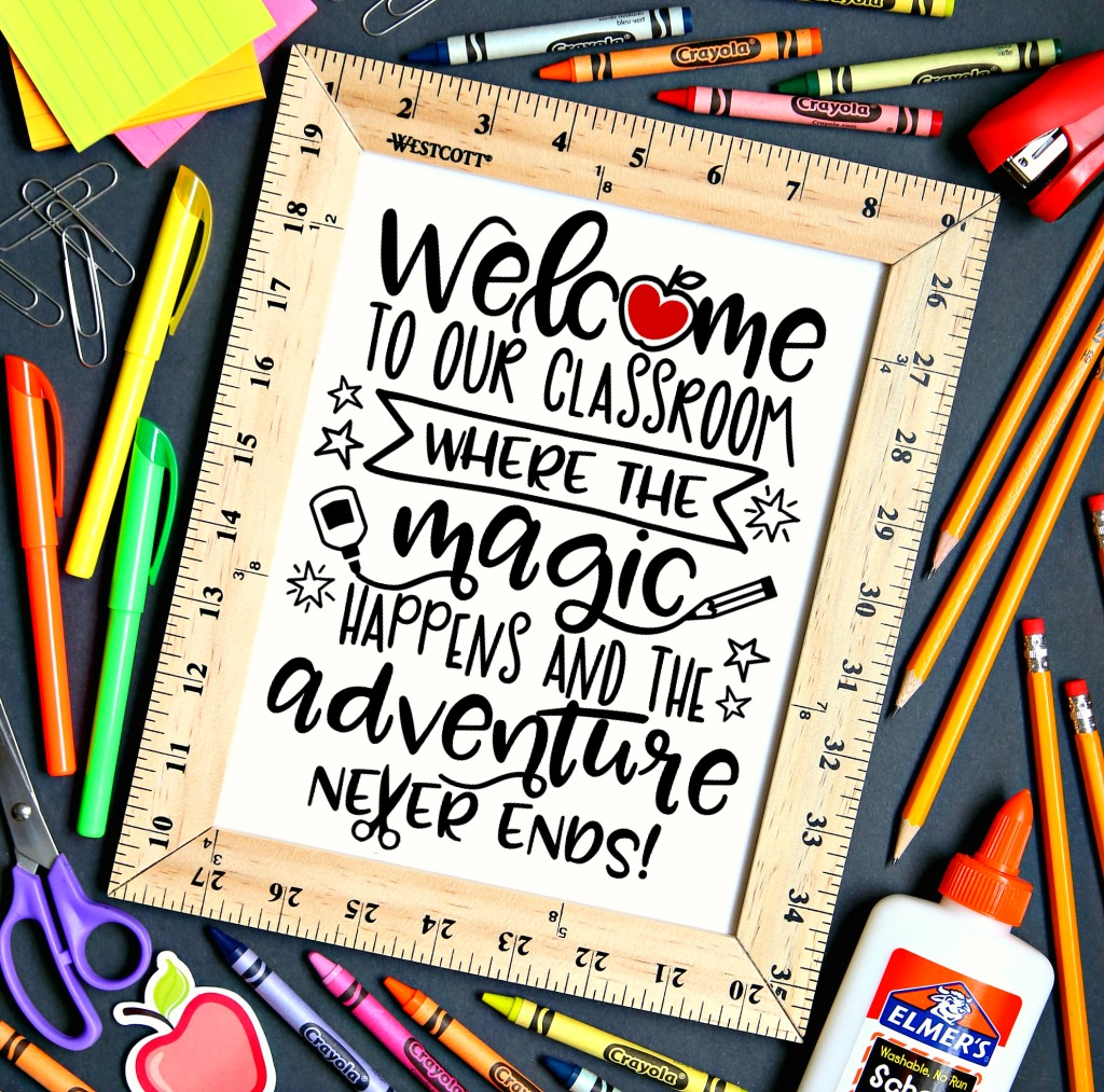 Welcome to our Classroom Free Printable