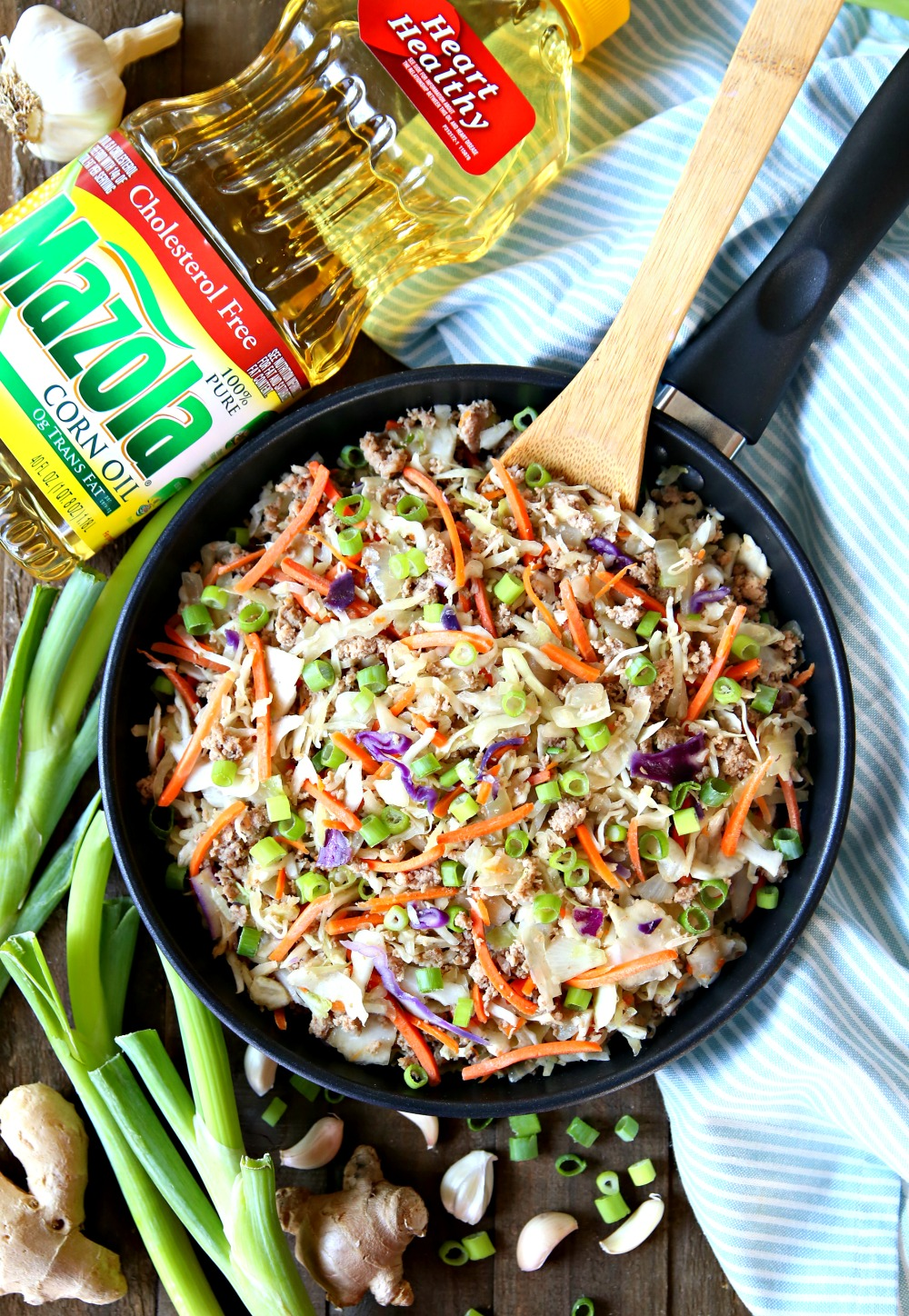 Egg Roll in a Bowl Skillet Meal