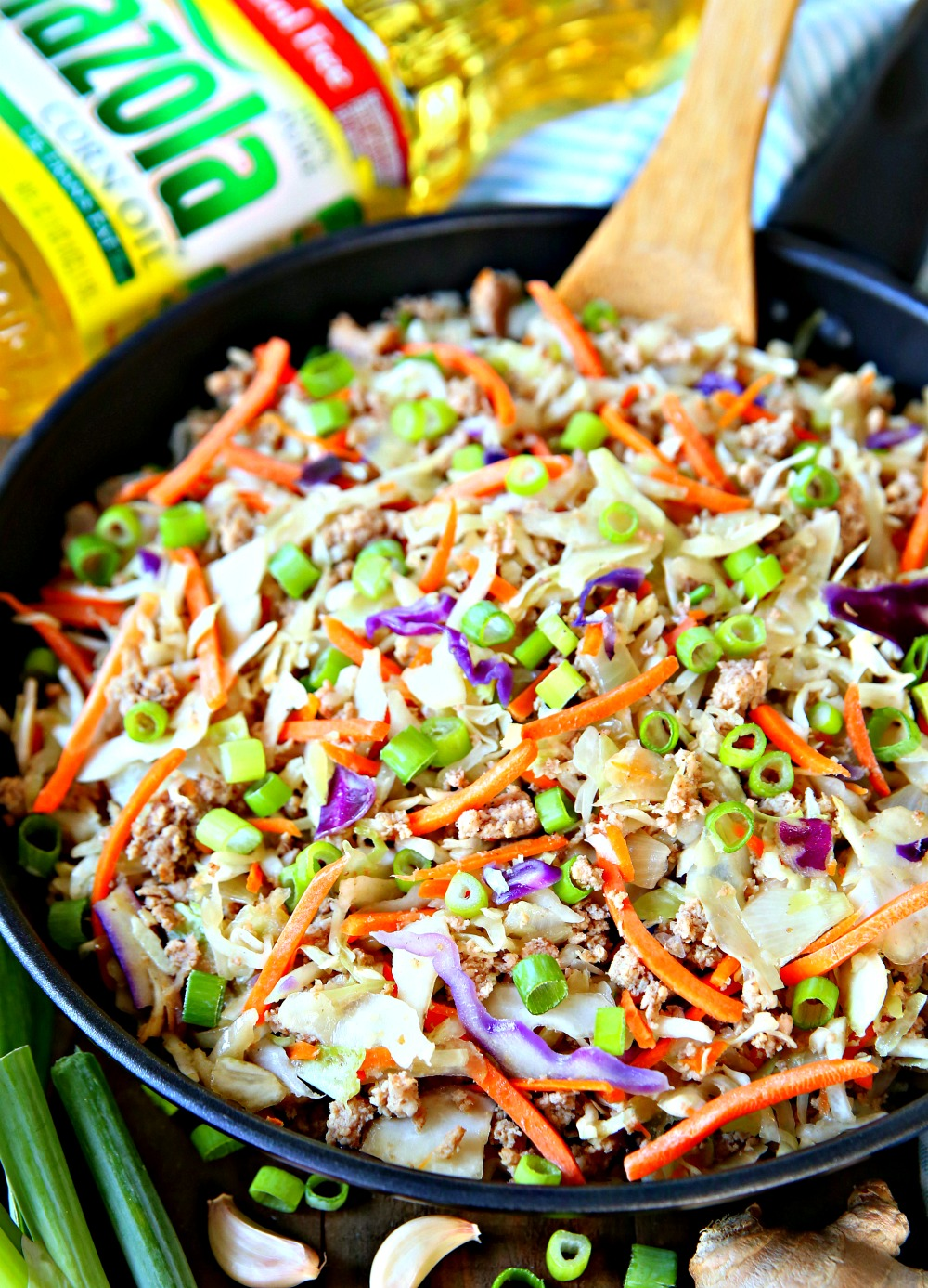 Egg Roll in a Bowl Easy Skillet Meal