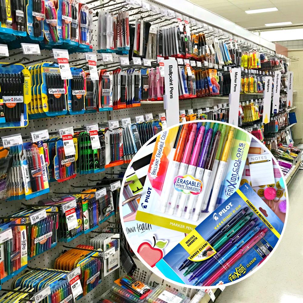 FriXion Pens at Target