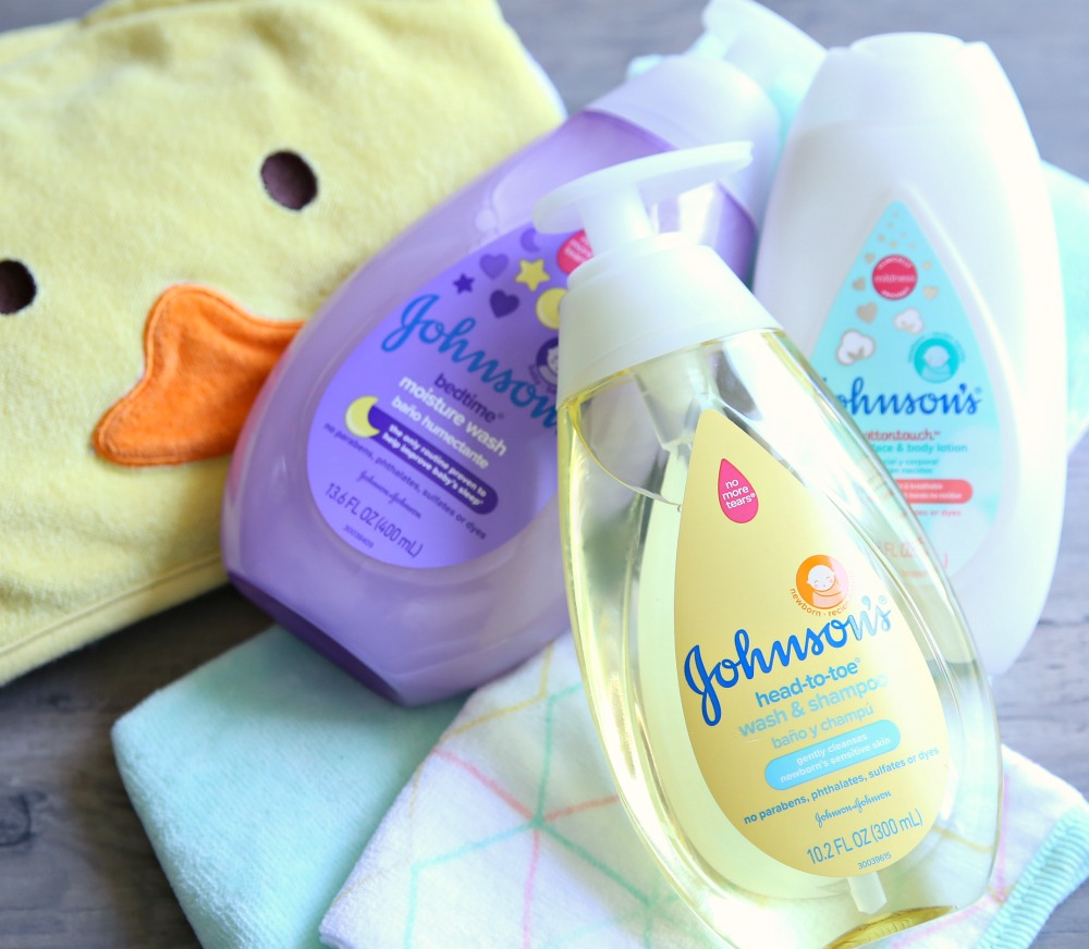 JOHNSON'S Baby Wash and Lotion Bath Essentials Target