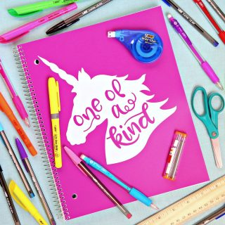 Free One of a Kind Unicorn Cut File {And A Great Way to Help Teachers As we head back to school}