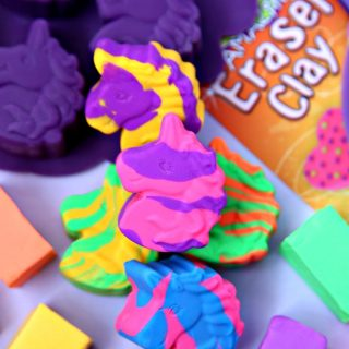 Make Your Own Unicorn Erasers