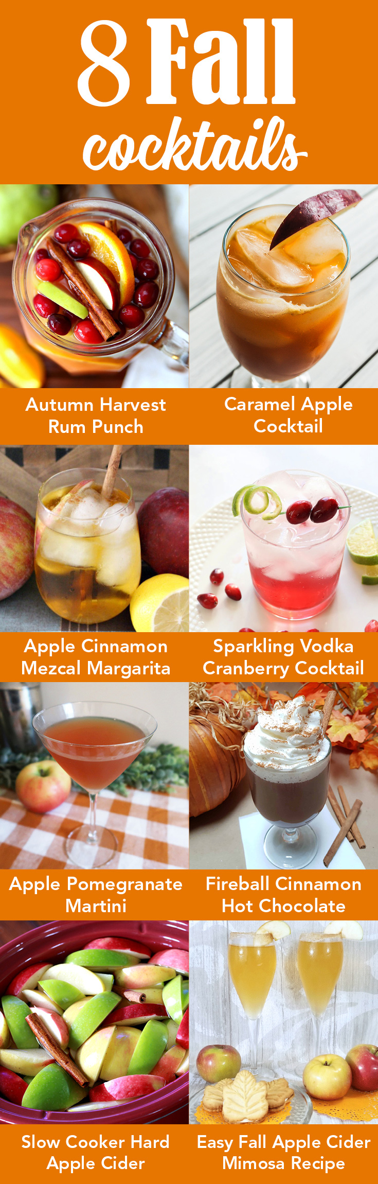 8 delicious fall cocktail recipes