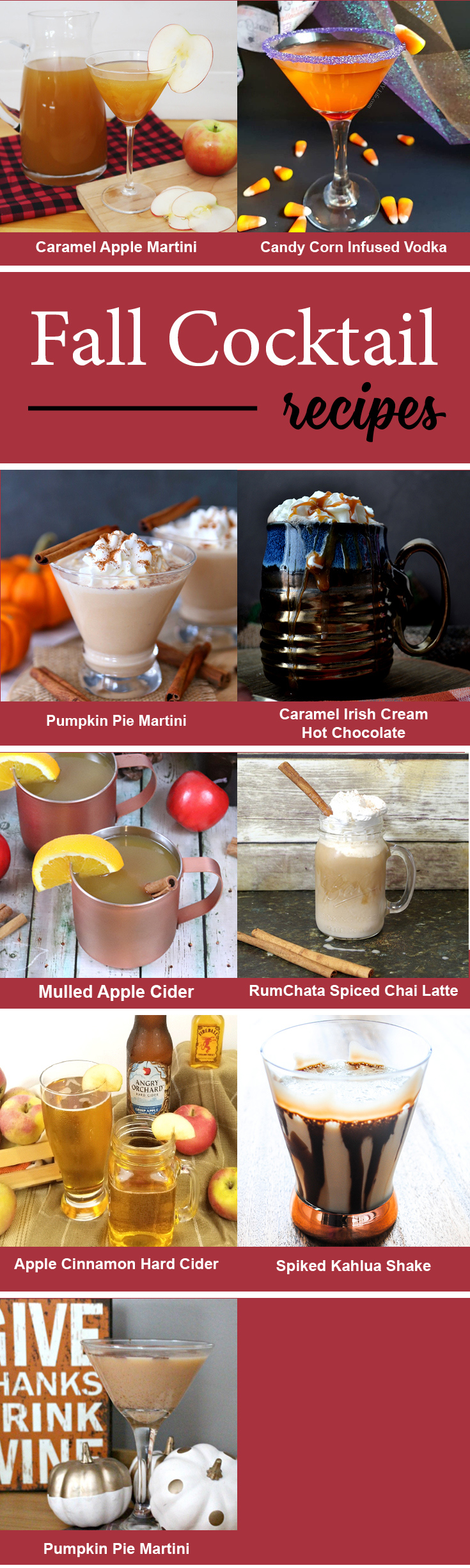 9 must-make fall cocktails
