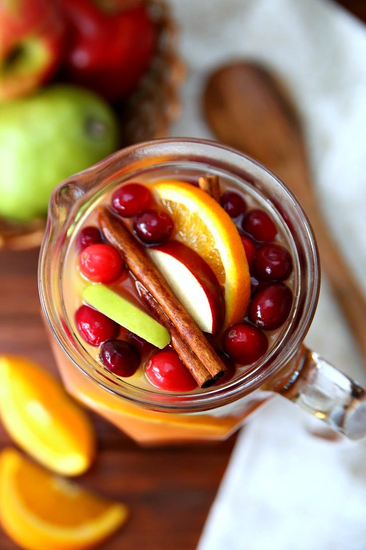 Autumn Harvest Rum Punch