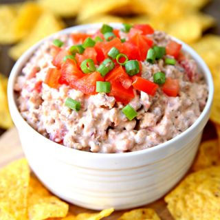 Cheesy Sausage Dip 3 Ingredient Dip Recipe