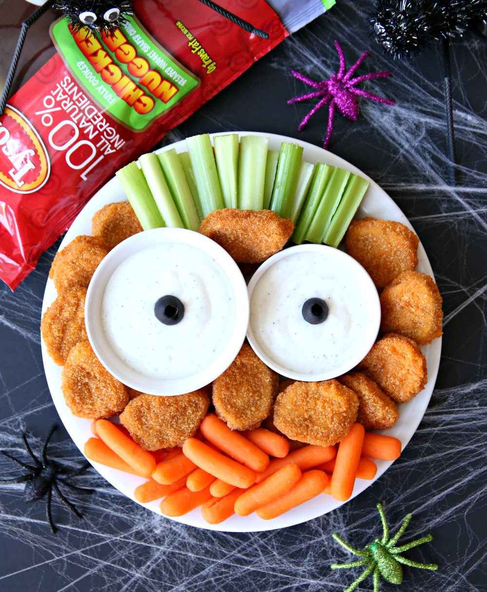 Monster Halloween Appetizer Platter