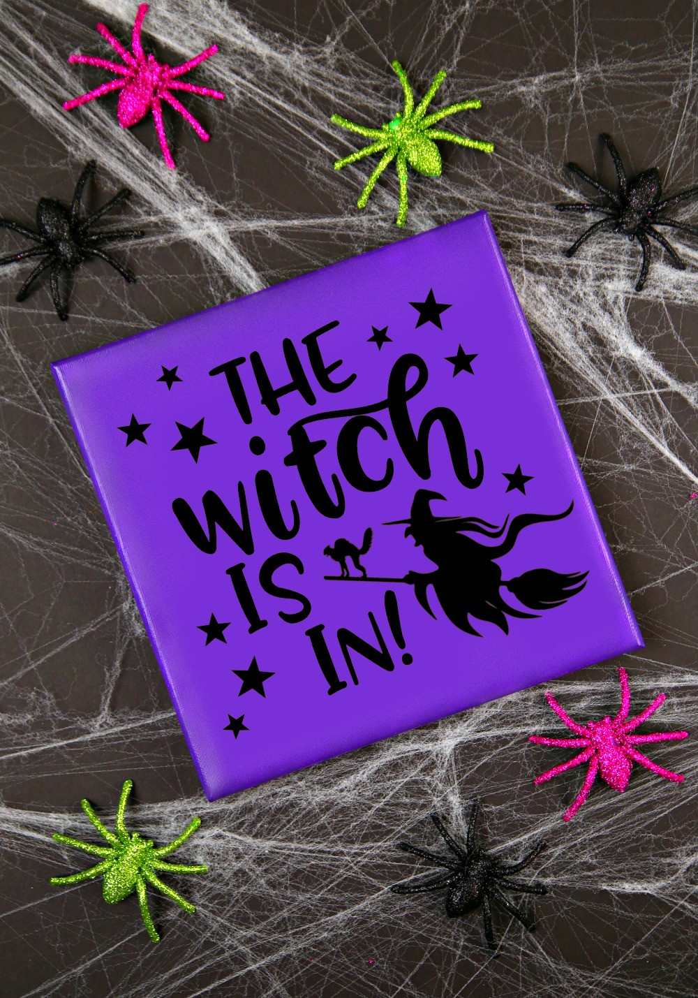 The Witch is In Free SVG Cut File