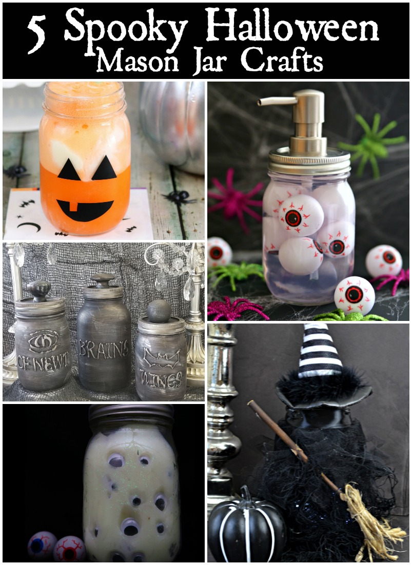 looking for more spooky halloween mason jar crafts check these 5 awesome halloween projects out