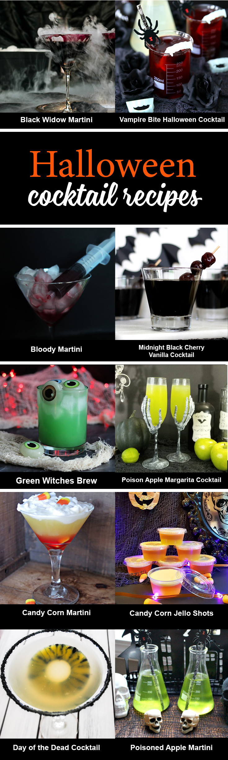 10 Halloween Cocktail Recipes