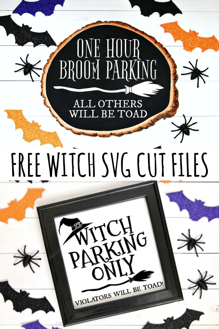 Free Witch SVG Cut Files