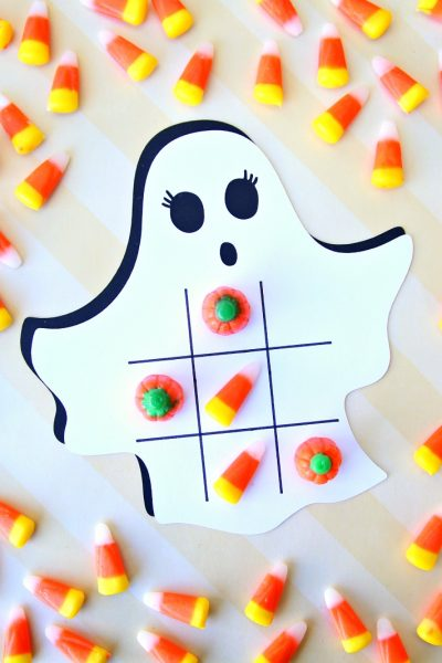 Ghost Tic Tac Toe Cricut Project