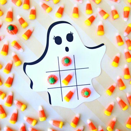 Ghost Tic Tac Toe Cricut Project