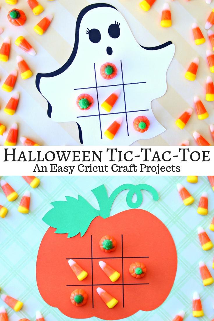 Halloween Tic-Tac-Toe Game Boards