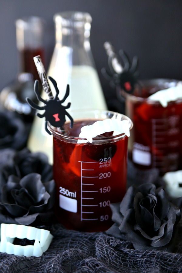 Vampire Bite Halloween Cocktail
