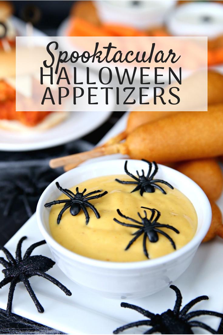 Spooktacular Hallowen Appetizers for all your Halloween festivities!
