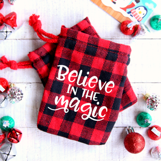 Believe in the Magic Gift Bags with SVG Cut File