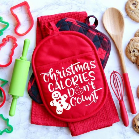 Christmas Calories Don't Count SVG Cut File
