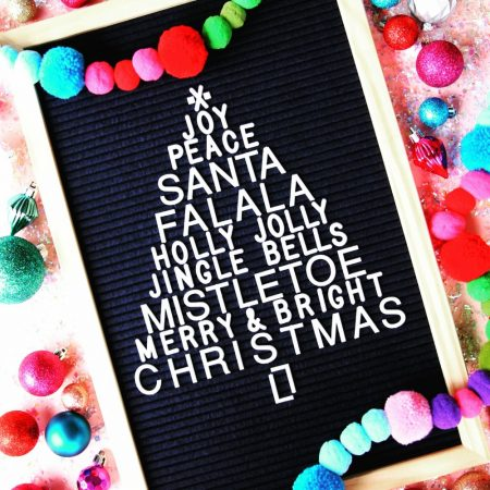 Christmas Letter Board Ideas and Inspiration