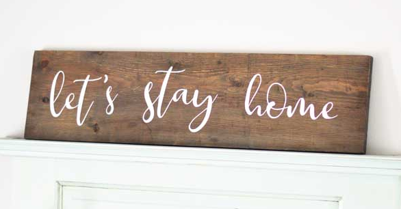 DIY Wood Sign 15 Minute Cricut Project