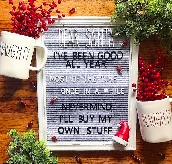 Christmas Felt Letter Board Ideas