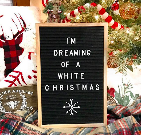 Christmas letter board ideas, quotes, and sayings