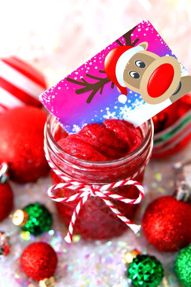 Slime Christmas Gift Card Holders