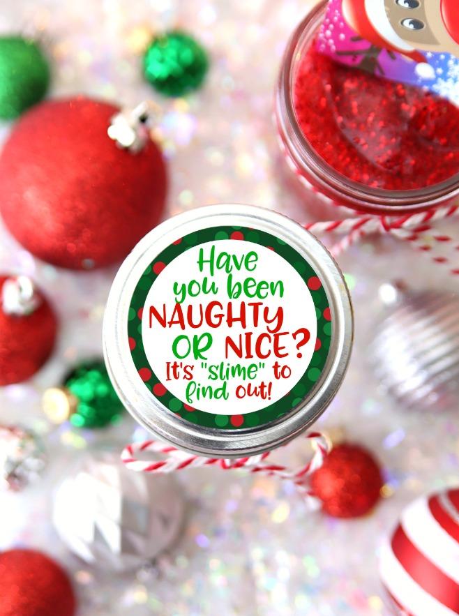 Slime Mason Jar Gift Card Holder