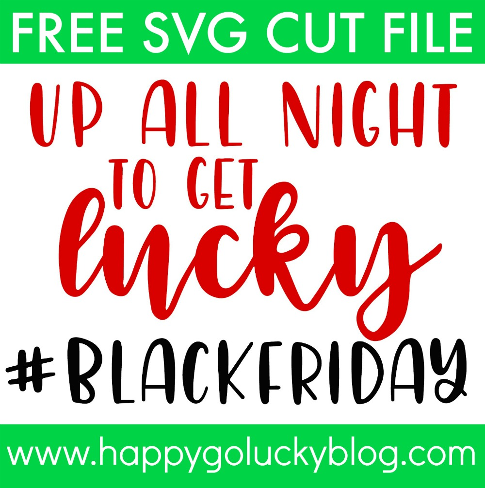Up All Night to Get Lucky Free SVG Cut File