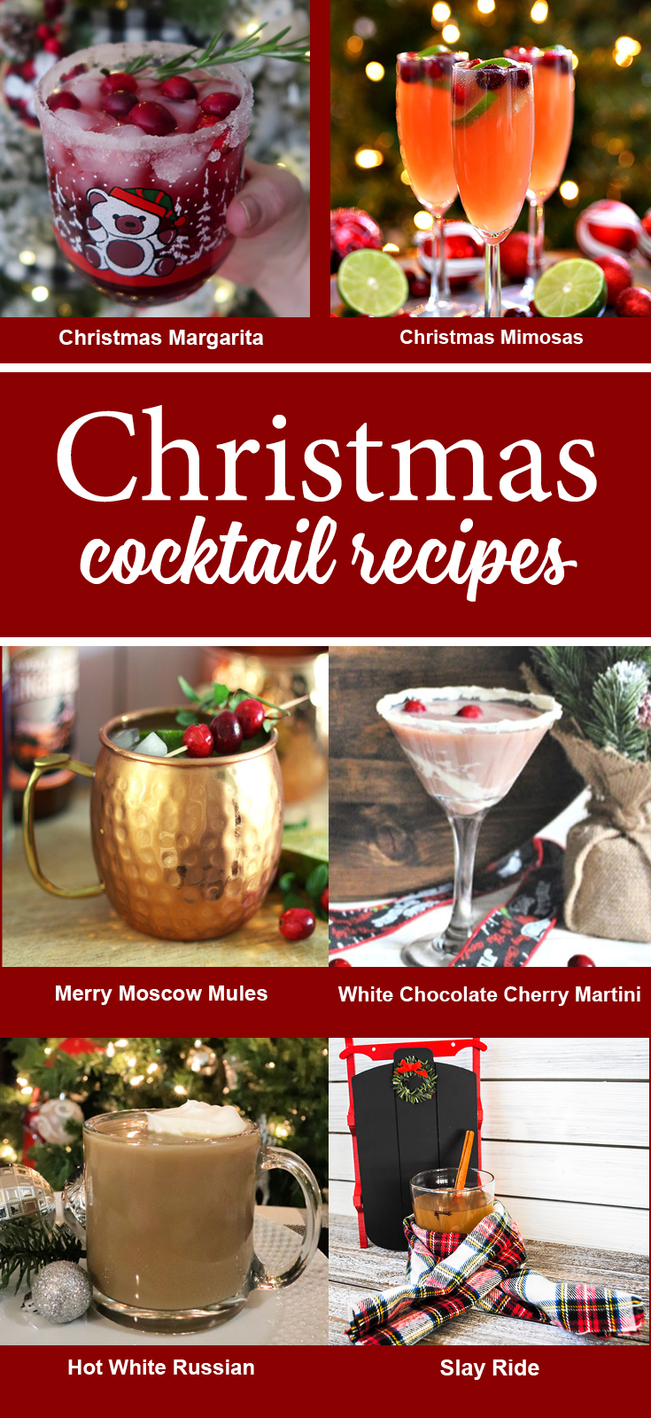 6 Christmas Cocktails
