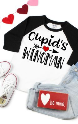 Cupid's Wingman SVG Cut File
