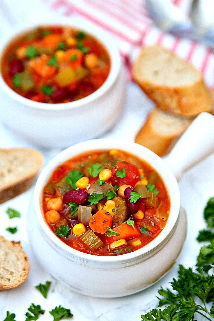The best Vegetable Soup recipe