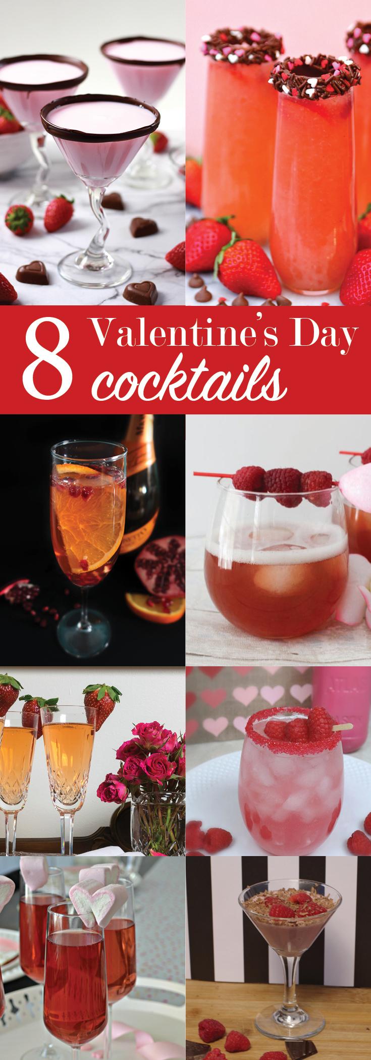 8 Valentine's Day Cocktails