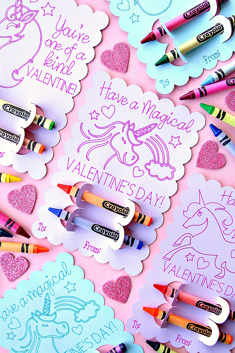 Unicorn Valentine's Day Cards - Have a Magical Valentine's Day Unicorn Valentine's Day Cards