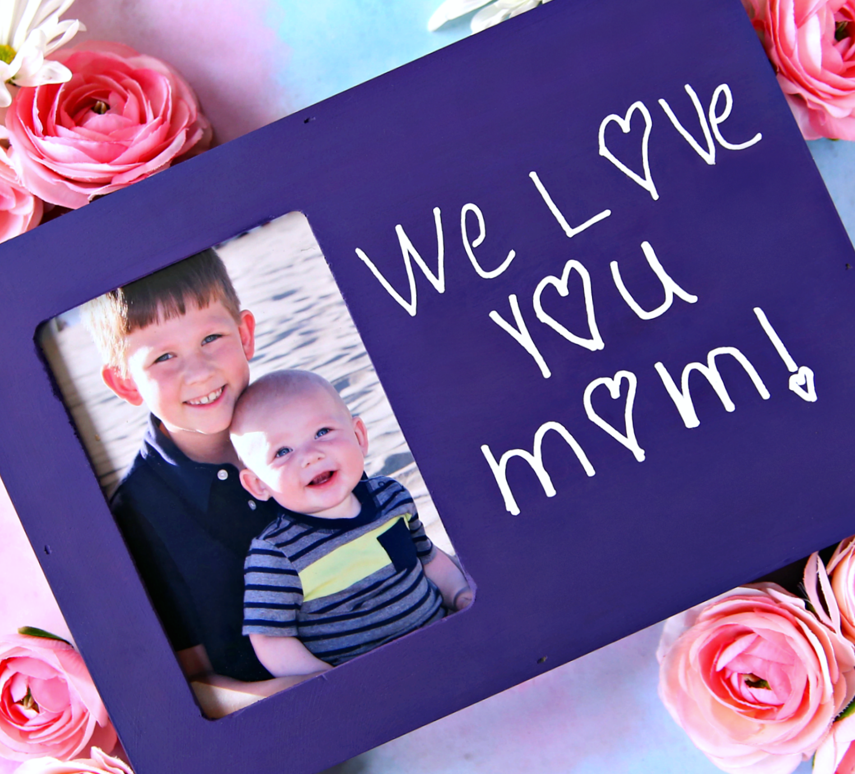 Mother's Day Gift using Handwritten Vinyl Decal