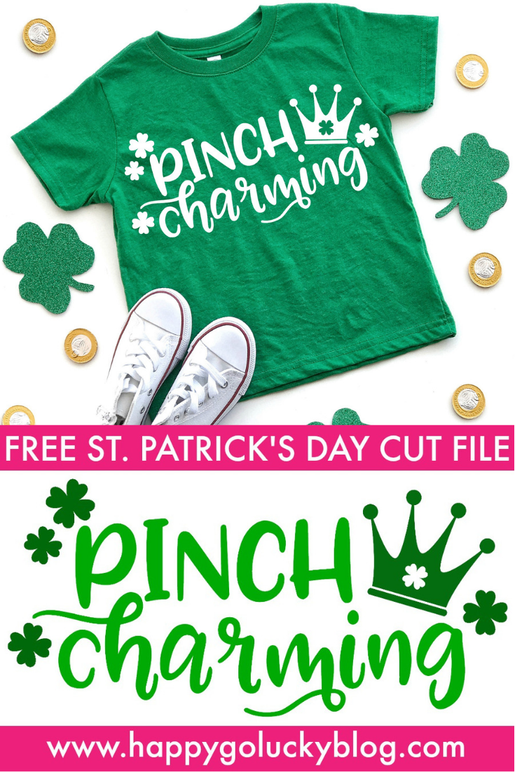 Celebrate St. Patrick's Day with this adorable Pinch Charming St. Patrick's Day cut file and a fabulous collection of Free St. Patrick's Day cut files.