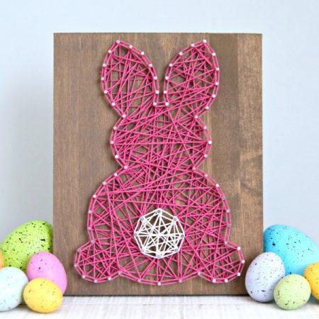 Easter Bunny String Art