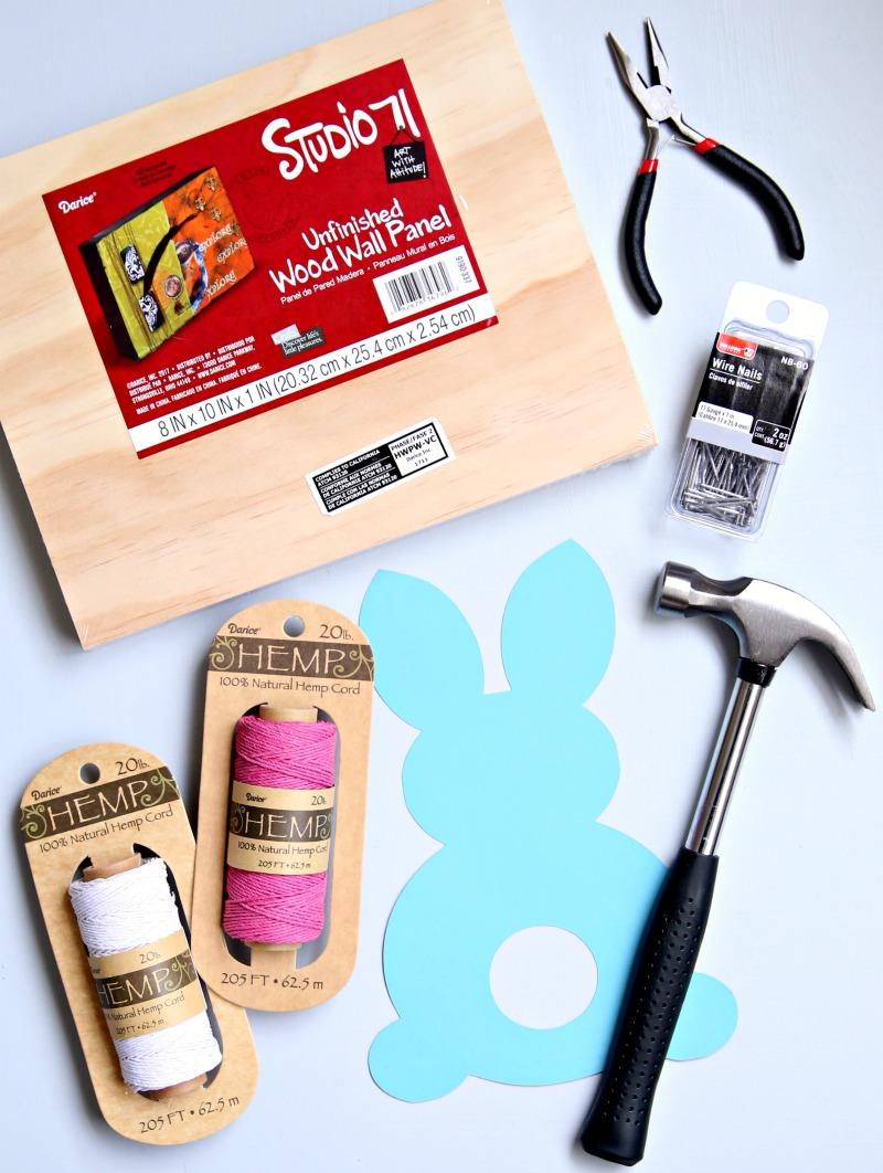 Easter Bunny String Art Supplies