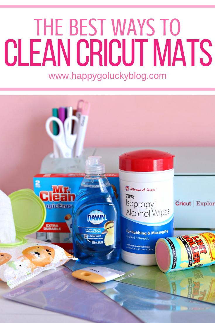 How to Clean Cricut Mats