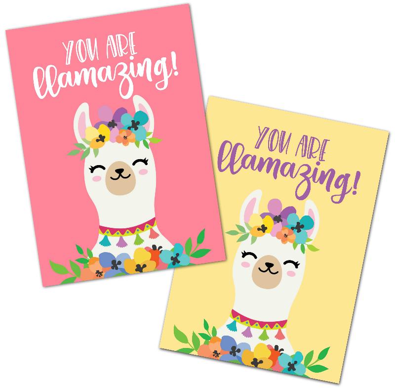 You are llamazing Free Llama Printable