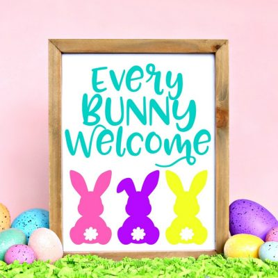 Every Bunny Welcome Easter Sign
