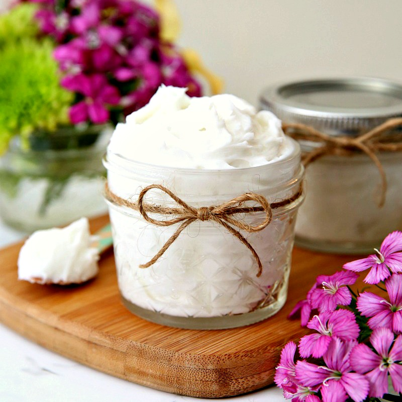 Whipped Body Butter Tutorial - A great gift idea!