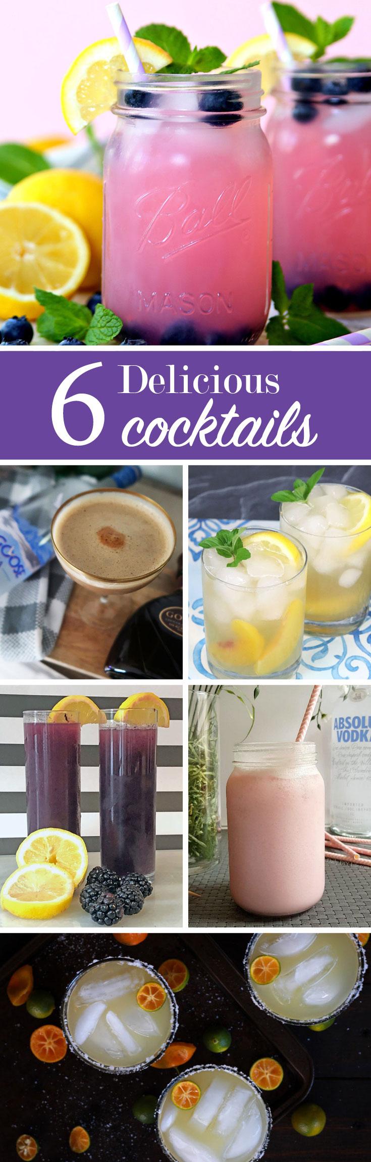 delicious Cocktail Recipes