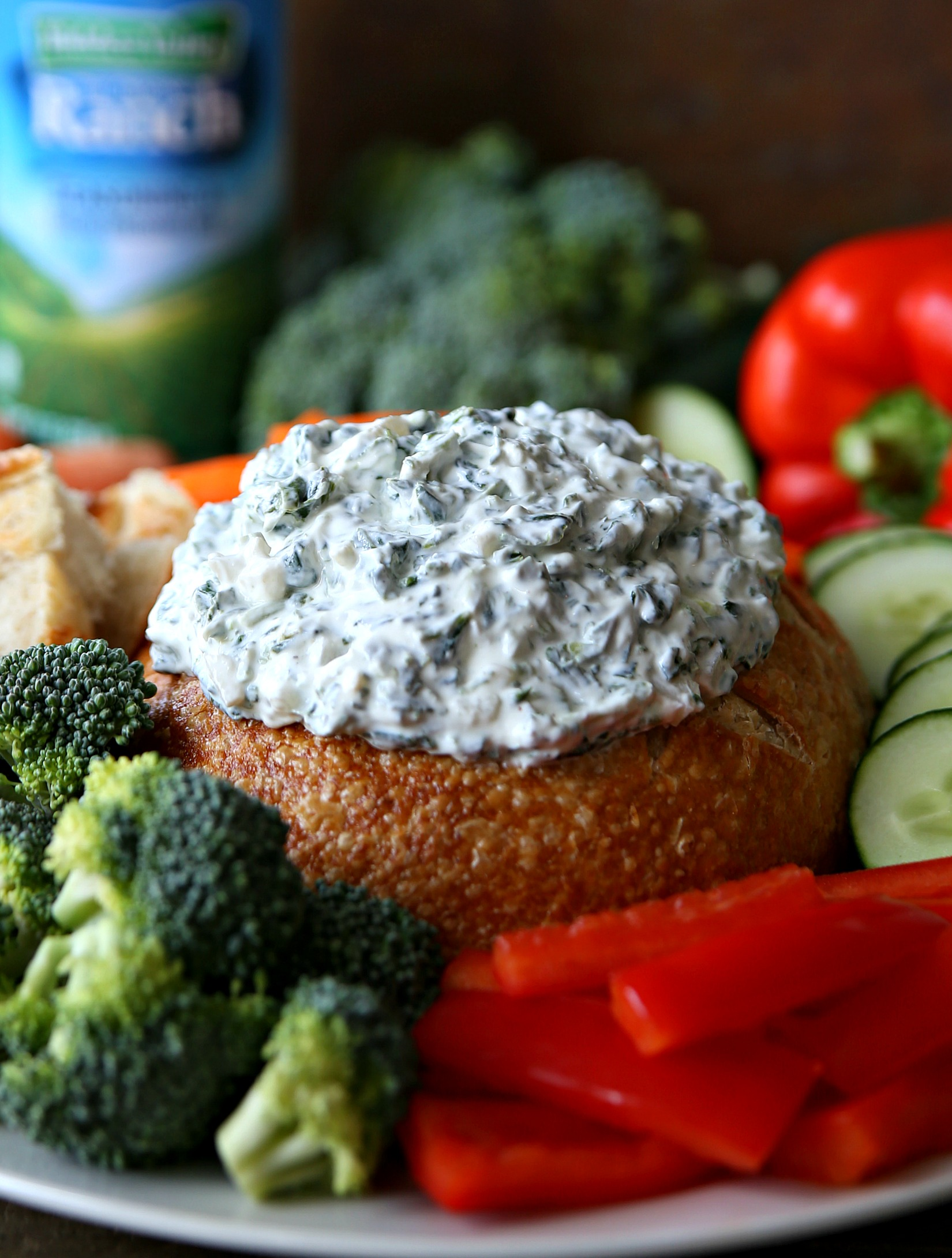 Ranch Spinach Dip Appetizer Recipe