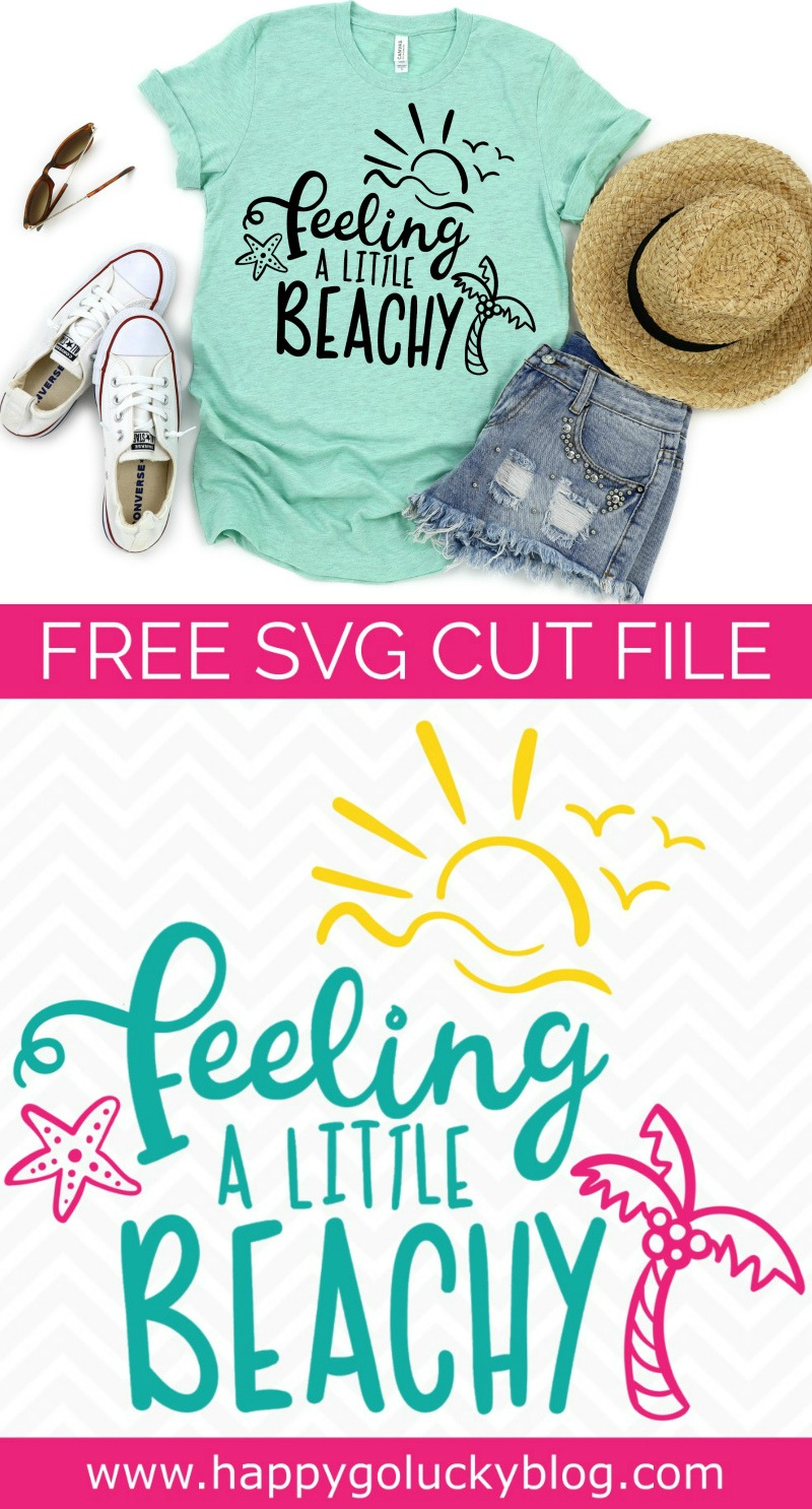 Feeling Beachy SVG Cut File